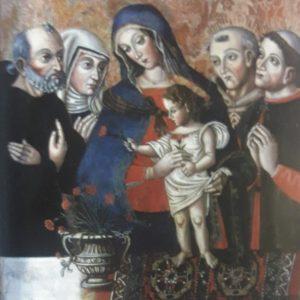 Da sinistra: beato Simone e S. Rita, Beati Ugolino e Giovanni