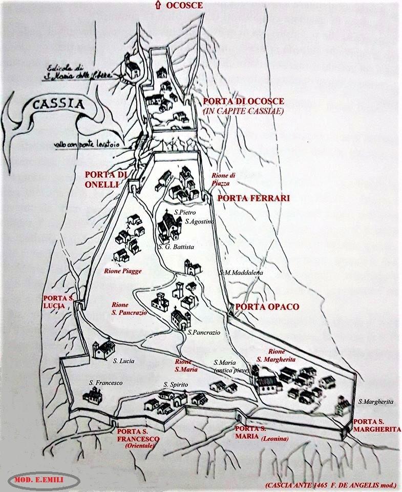 Cascia ante 1465